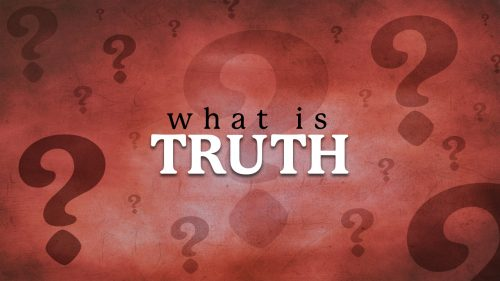 What is Truth? Communion