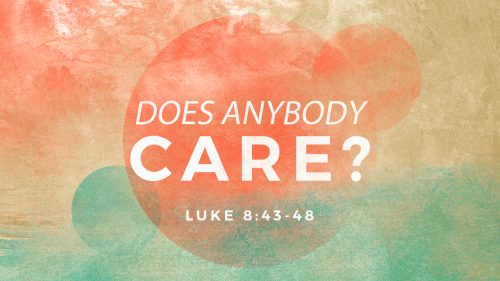 Does Anybody Care?