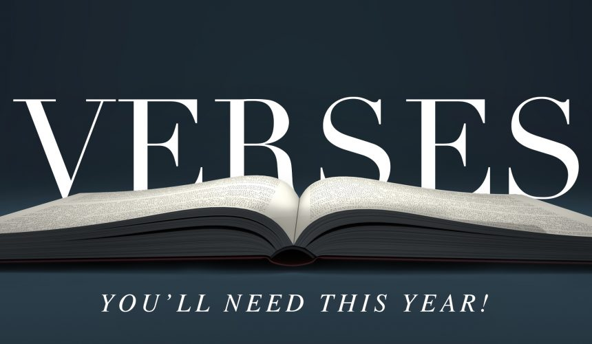 Seven Verses You'll Need this Year