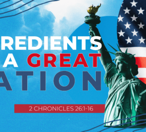 Ingredients of a Great Nation
